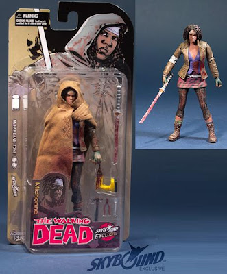 San Diego Comic-Con 2012 Exclusive Bloody Hooded Michonne The Walking Dead Variant Comic Book Action Figure by McFarlane Toys