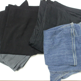 Blind hemming to reduce pants length