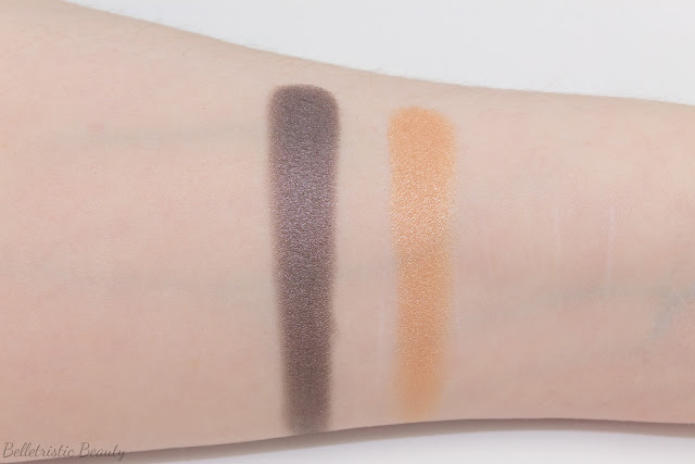 Giorgio Armani Organica Universal Eyeshadow Palette Yeux 01 Milan Color Eye swatches, Fade To Grey, Fall 2014