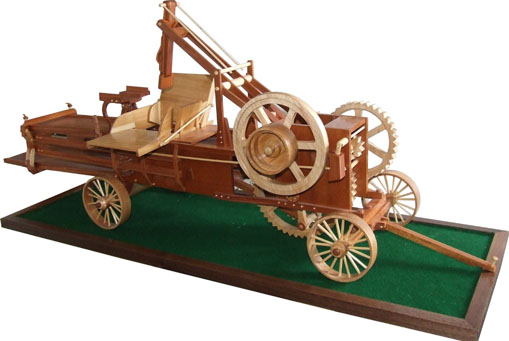 Wooden Antique Hay Balers