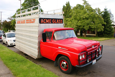 1960 Ford F 350 Acme Glass Truck.