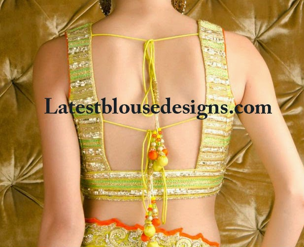 pam mehta blouse designs