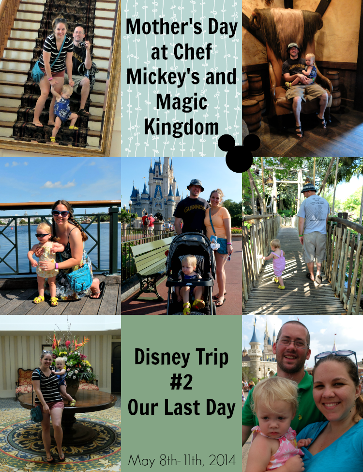 Chef Mickey's, Magic Kingdom, Mother's Day at Disney World