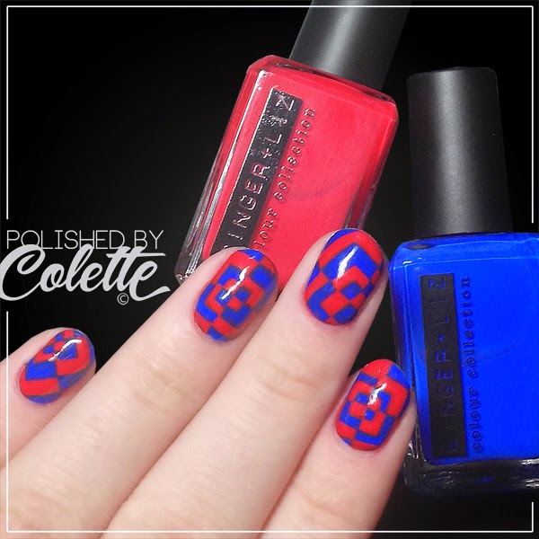 Ginger And Liz Polish Review Nail Art And My Favorite Blue Ever