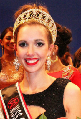 Miss World Canada 2014 winner Annora Bourgeault