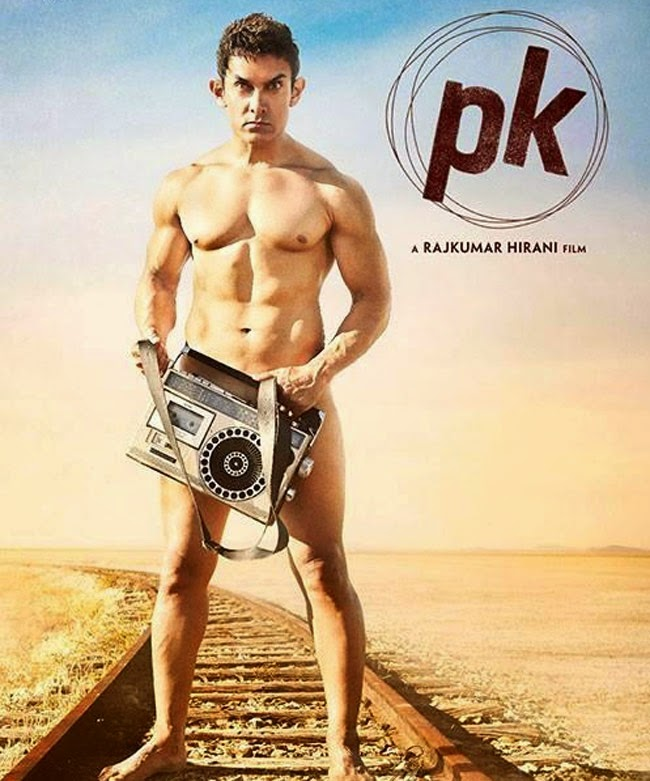 'PK'The First Look Of Aamir Khan Nude Avatar