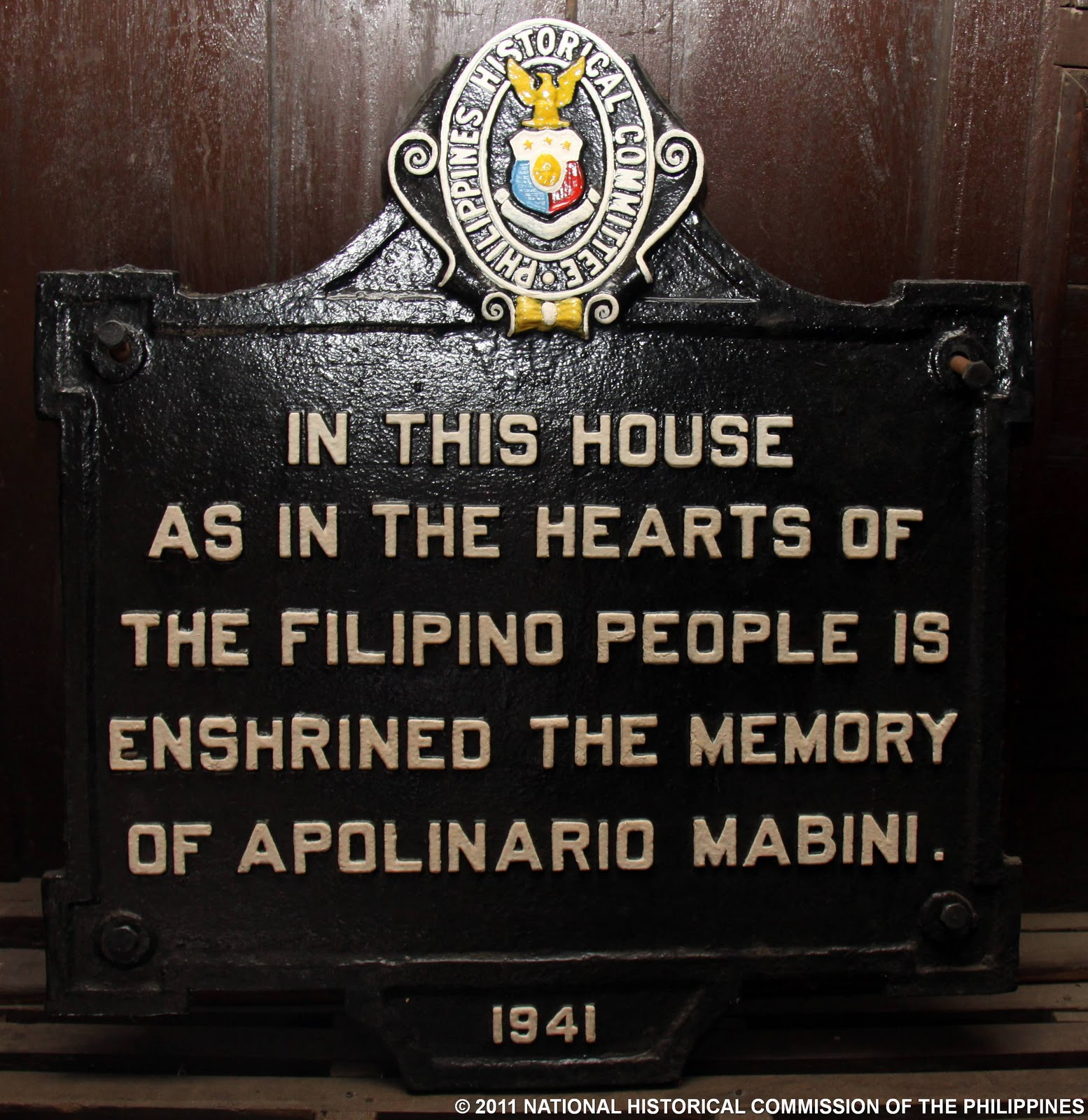 apolinario mabini to the filipino nation Shortly after aguinaldo's return to the philippines from exile in hong kong in may  of 1898, he tasked mabini with helping him establish a  of the most critical  period in the new country's history,.