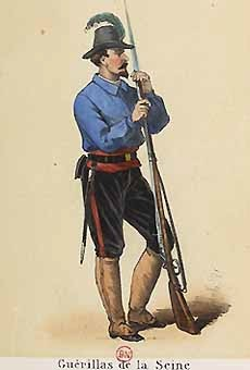 Franc-tireur de la Guérilla de la Seine