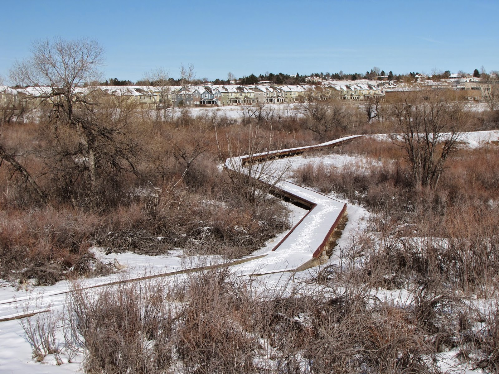 Go hike colorado cherry creek valley ecological park for Cherrycreek