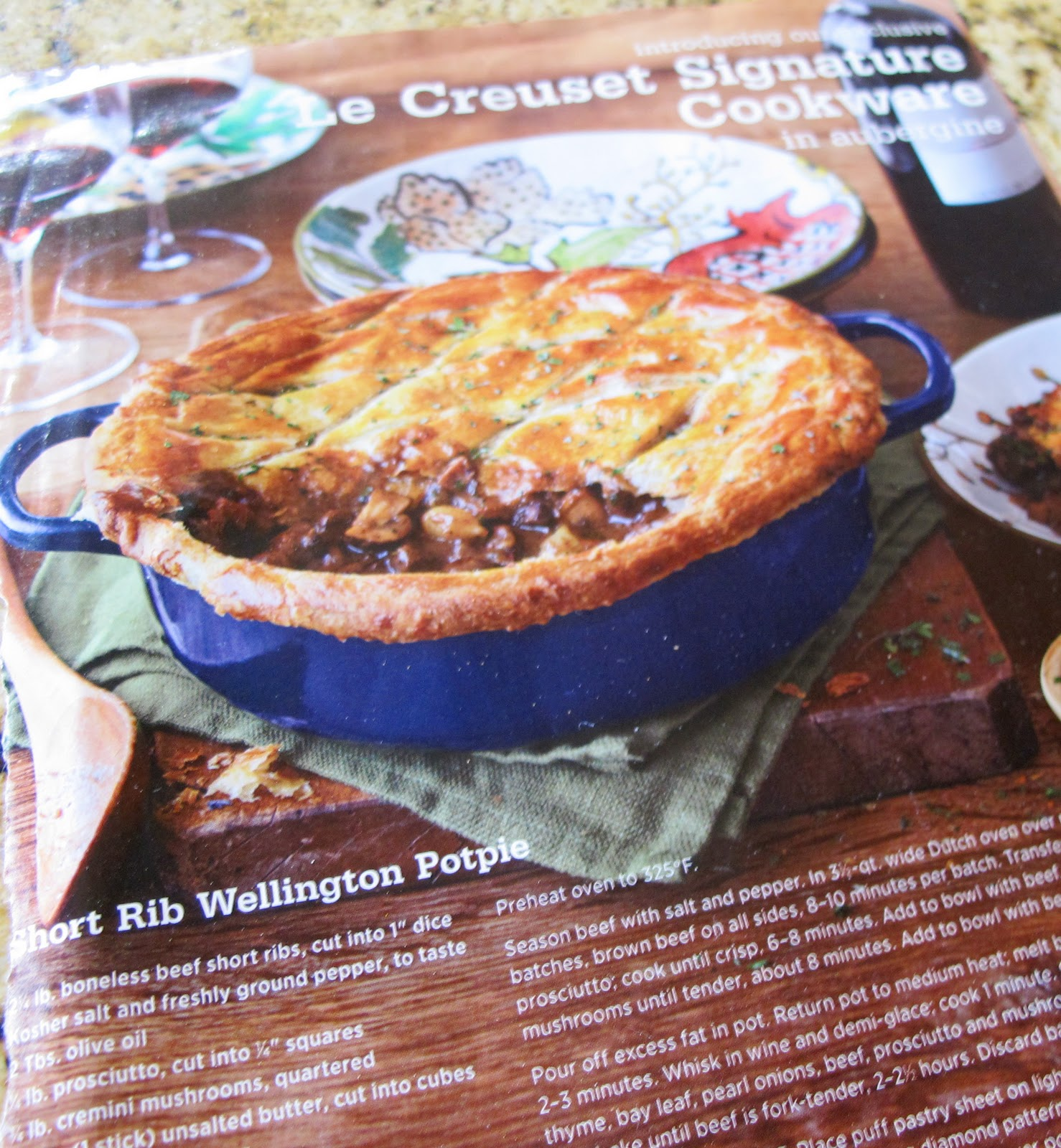 RECIPEAS4U: Short Rib Beef Potpie