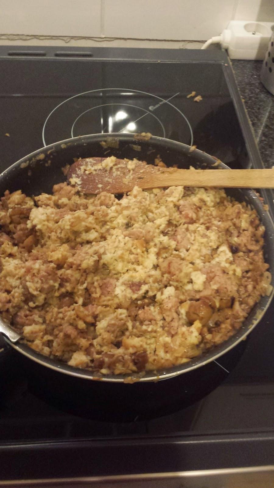 Une coccinelle en cuisine chapon farci aux marrons - Cuisiner le chapon farci ...