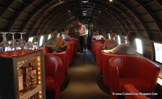 Restaurant Inside an Old Soviet Plane