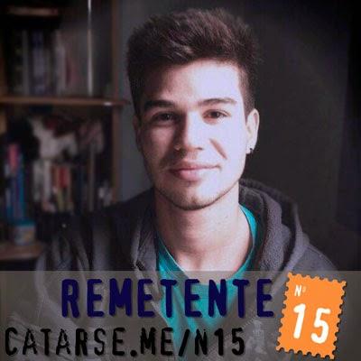 Autor do livro Remetente N15, Ben Oliveira