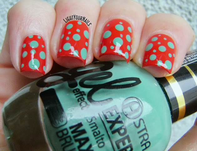 Astra dotticure - nail art a pois
