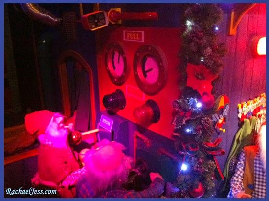 Santa's Grotto at Peppa Pig World