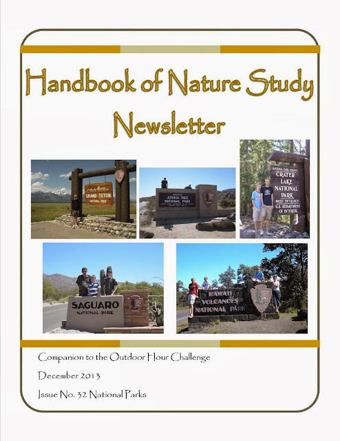 Handbook of Nature Study December 2013 Newsletter-National Parks