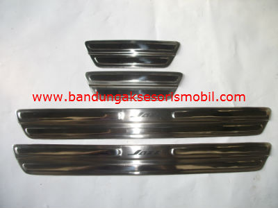 Sillplate Samping Stainless  ALL NEW JAZZ