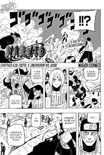 Naruto 638 Português Mangá leitura online agaleradosanimes.net