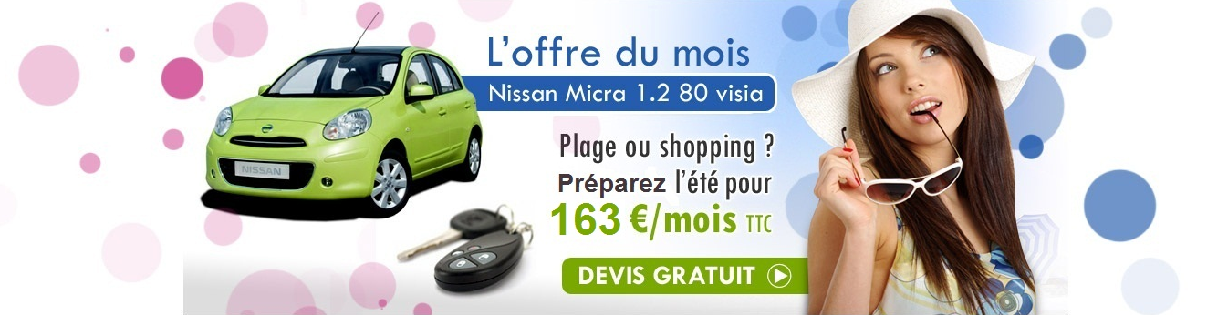 leasing promo nissan micra