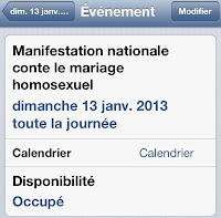 Manifestation nationale 13 janvier