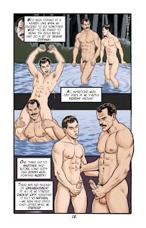 Cote de pablo naked sinful comics