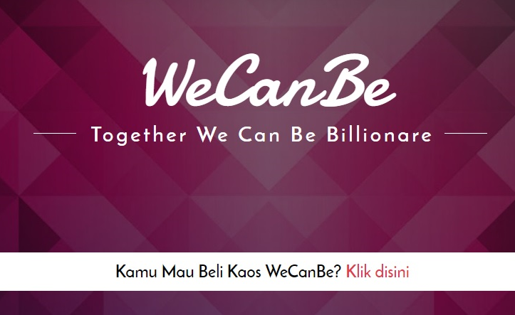 BISNIS KAOS WE CAN BE