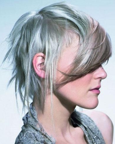 Razor Cut Punk Hair Style 2014