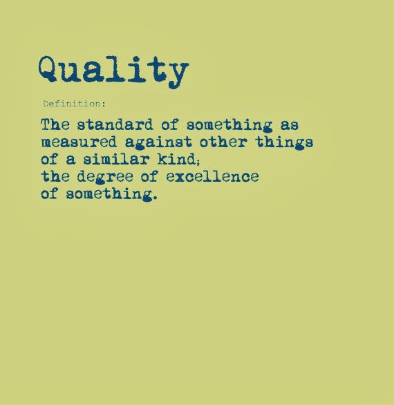 Property Services Quality not Quantity