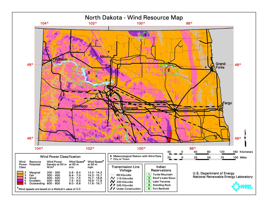North Dakota Energy Maps Amp Graphs