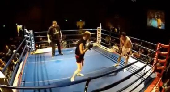Ajegile! Kakek Ini Meng-KO Petarung yang Lebih Muda Darinya dengan Sekali Pukul!