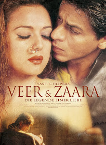 Poster Of Bollywood Movie Veer Zaara (2004) 300MB Compressed Small Size Pc Movie Free Download worldfree4u.com