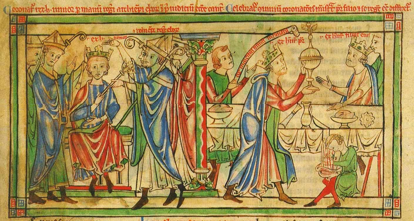 Henry the Young King's First Coronation