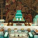 Sweet table anniversaire de mariage New-York Art-déco