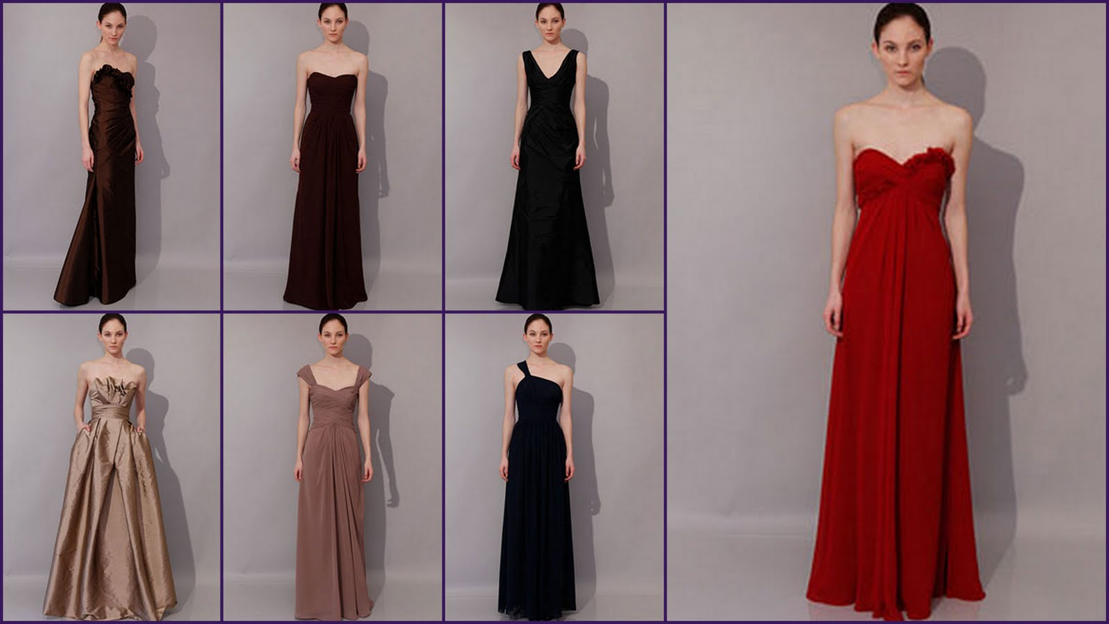 the serendipitist: New Monique Lhuillier Bridesmaids Dresses Arrive