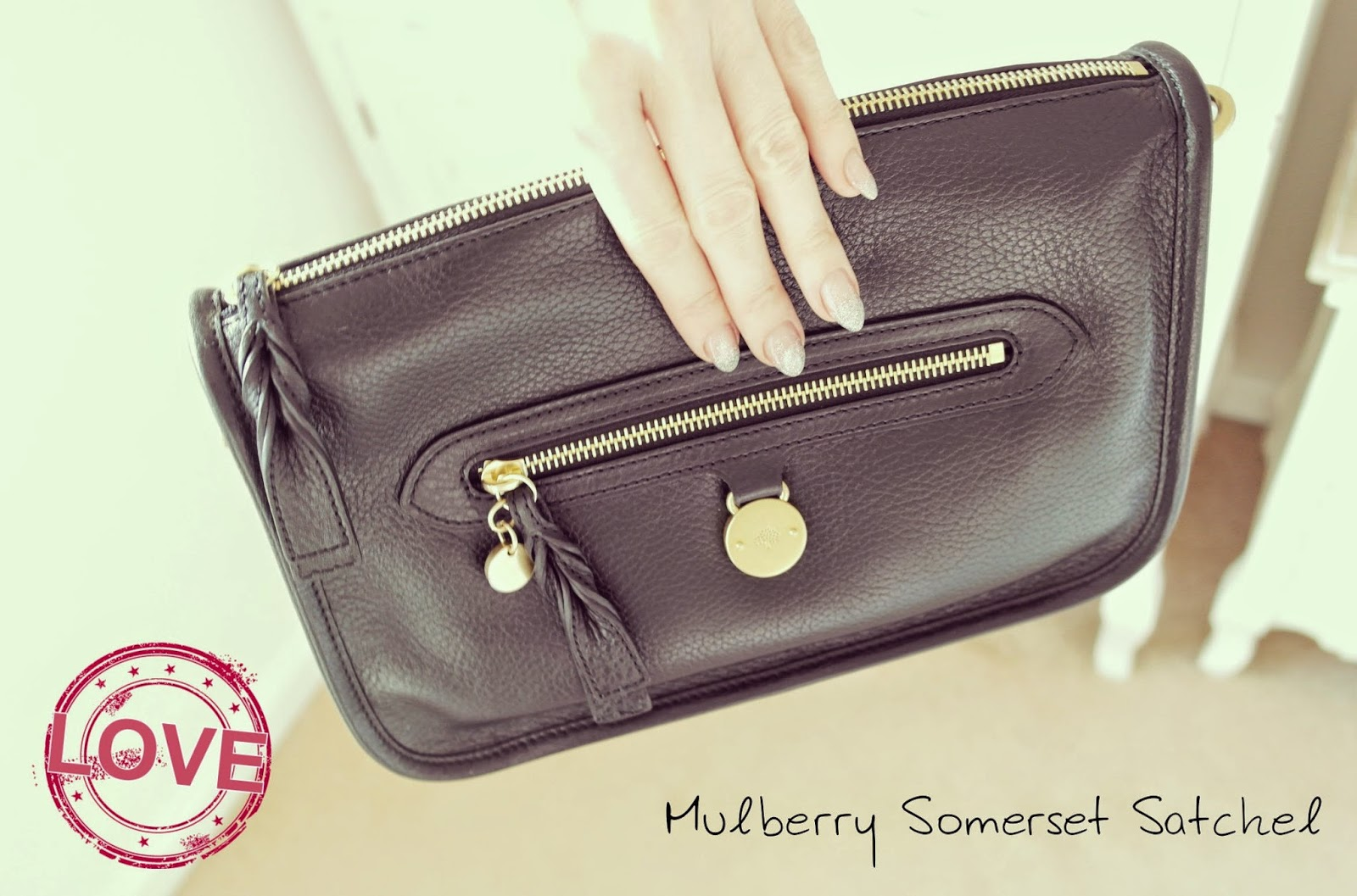 Mulberry Somerset Satchel from Bicester Village
