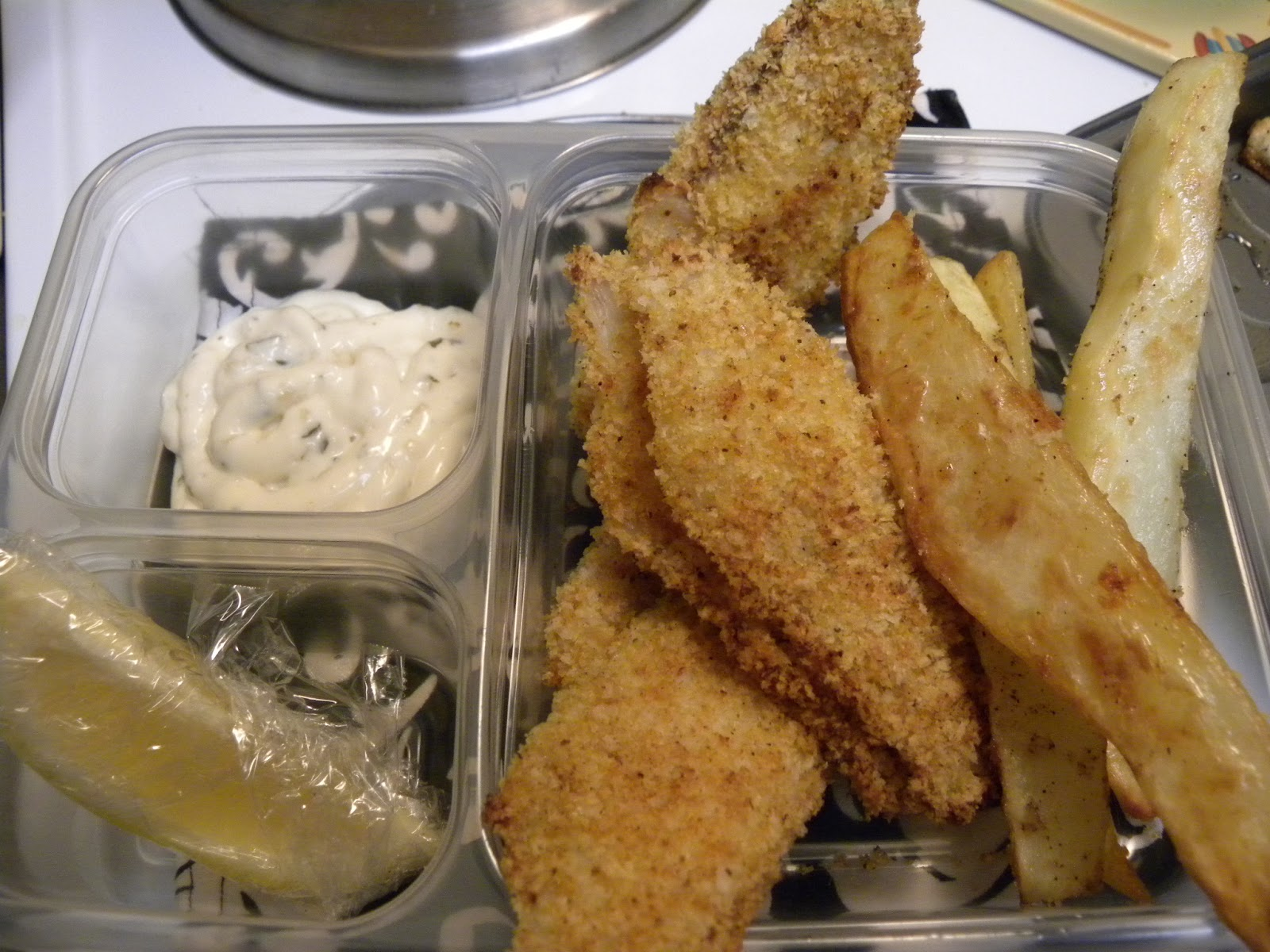 The magnificent mrs morales crispy baked tilapia with for Crispy baked whiting fish recipes