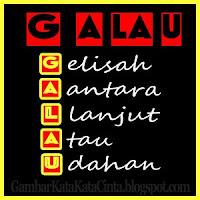gambar kata kata galau