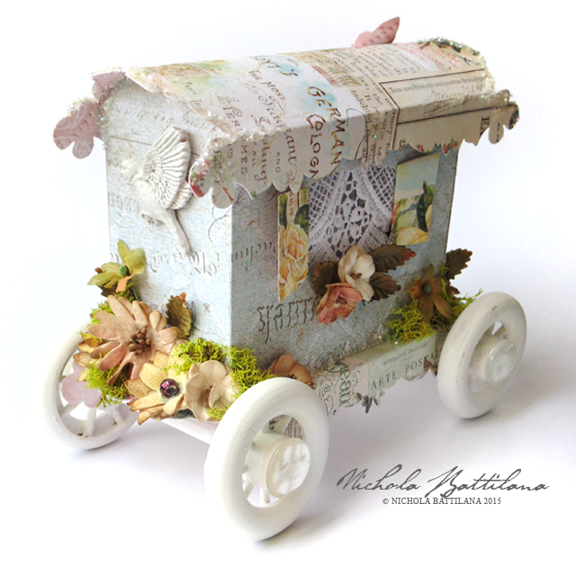Paper Caravan with Petaloo DIY Blooms - Nichola Battilana