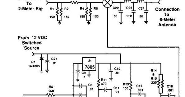 Easy 2m 6m Transverter Wiring Diagram Schematic