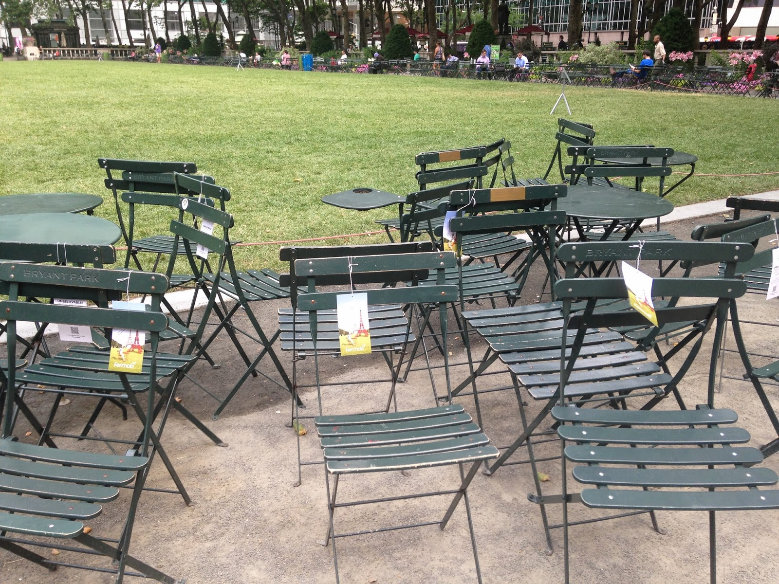 Bryant Park Blog Celebrate the Bistro Chair s 125th Birthday with