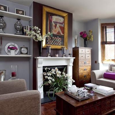 Desain Ruang Keluarga Tradisional Yang Sederhana