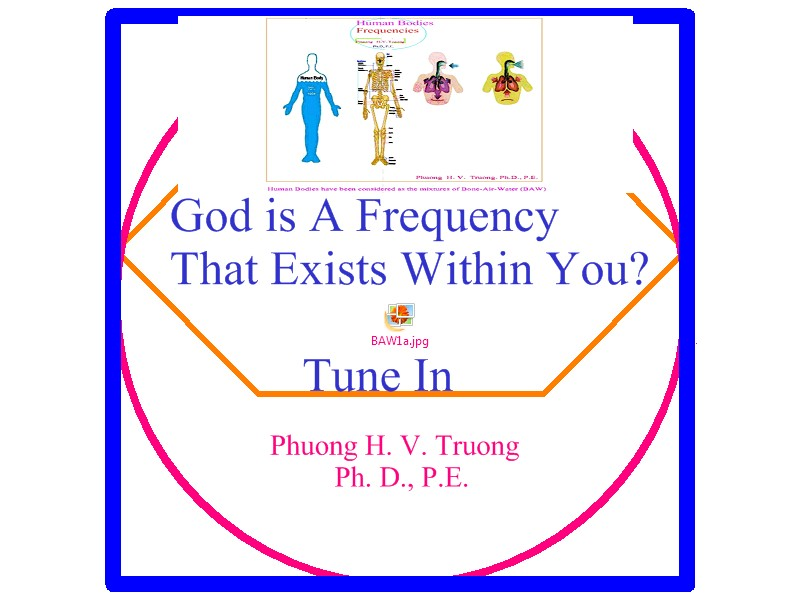 GOD - A Natural Frequency