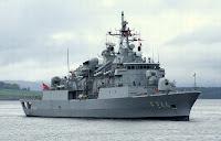 Barbaros class frigate