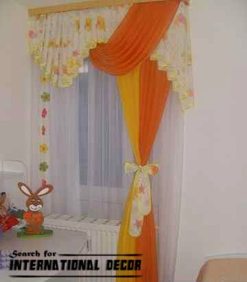kids curtains for nursery,contemporary orange curtains