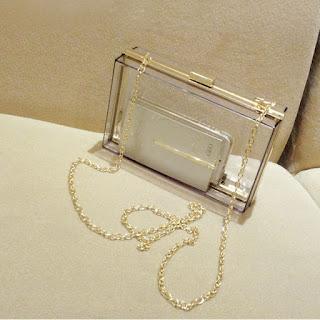model tas kecil transparan