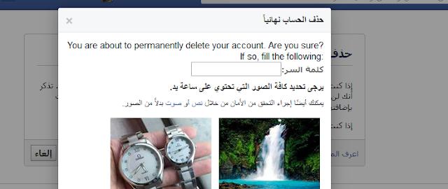 فيسبوك . حذف فيسبوك . حذف حساب فيسبوك.