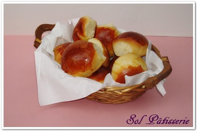 Petits pains au lait - Pãezinhos de leite