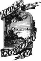 Primeiro logotipo da Apple.