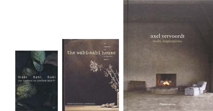 tendance deco livres  wabi-sabi