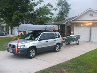Going canoeing
